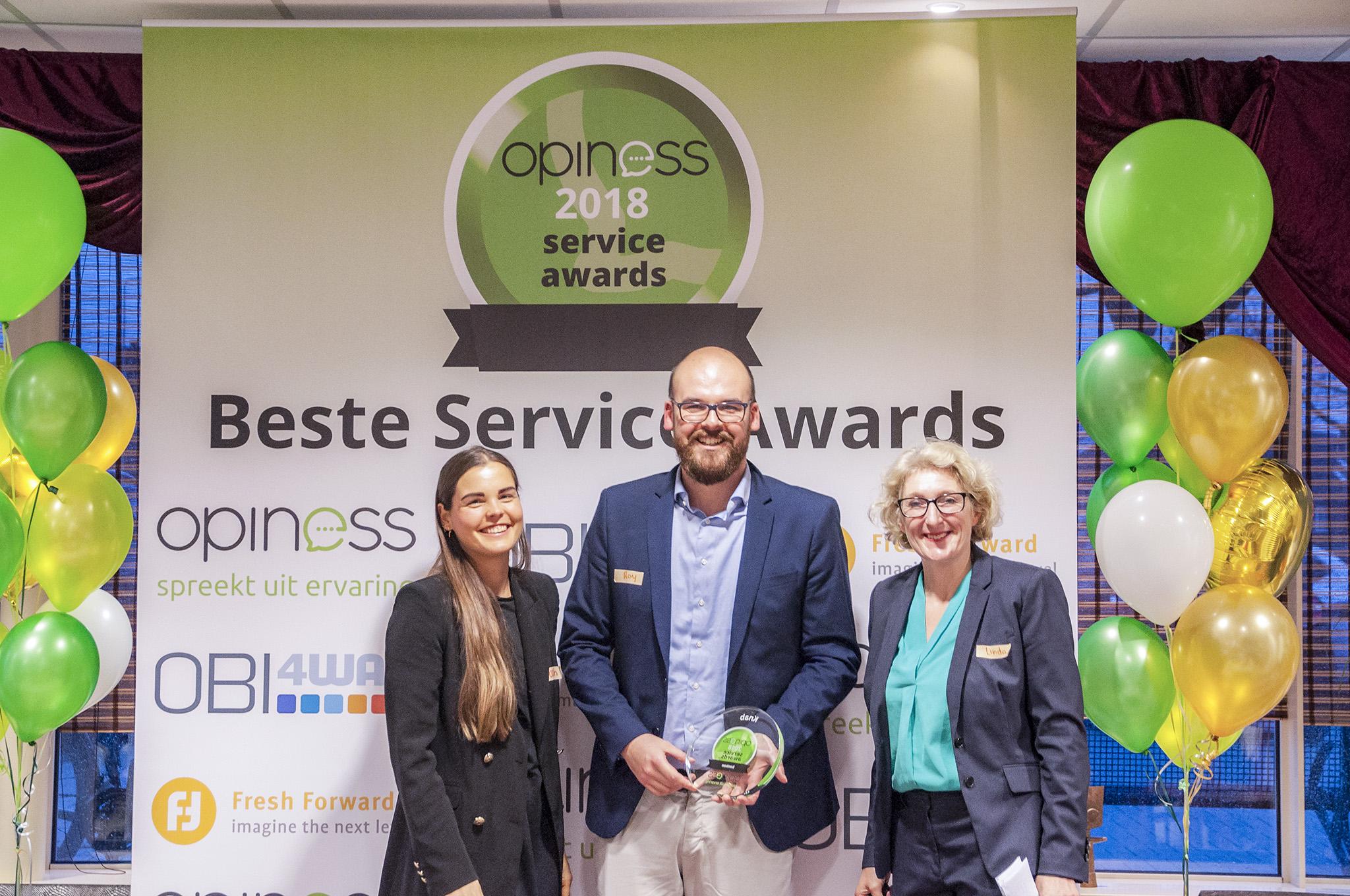 Winnaar Knab Opiness Award
