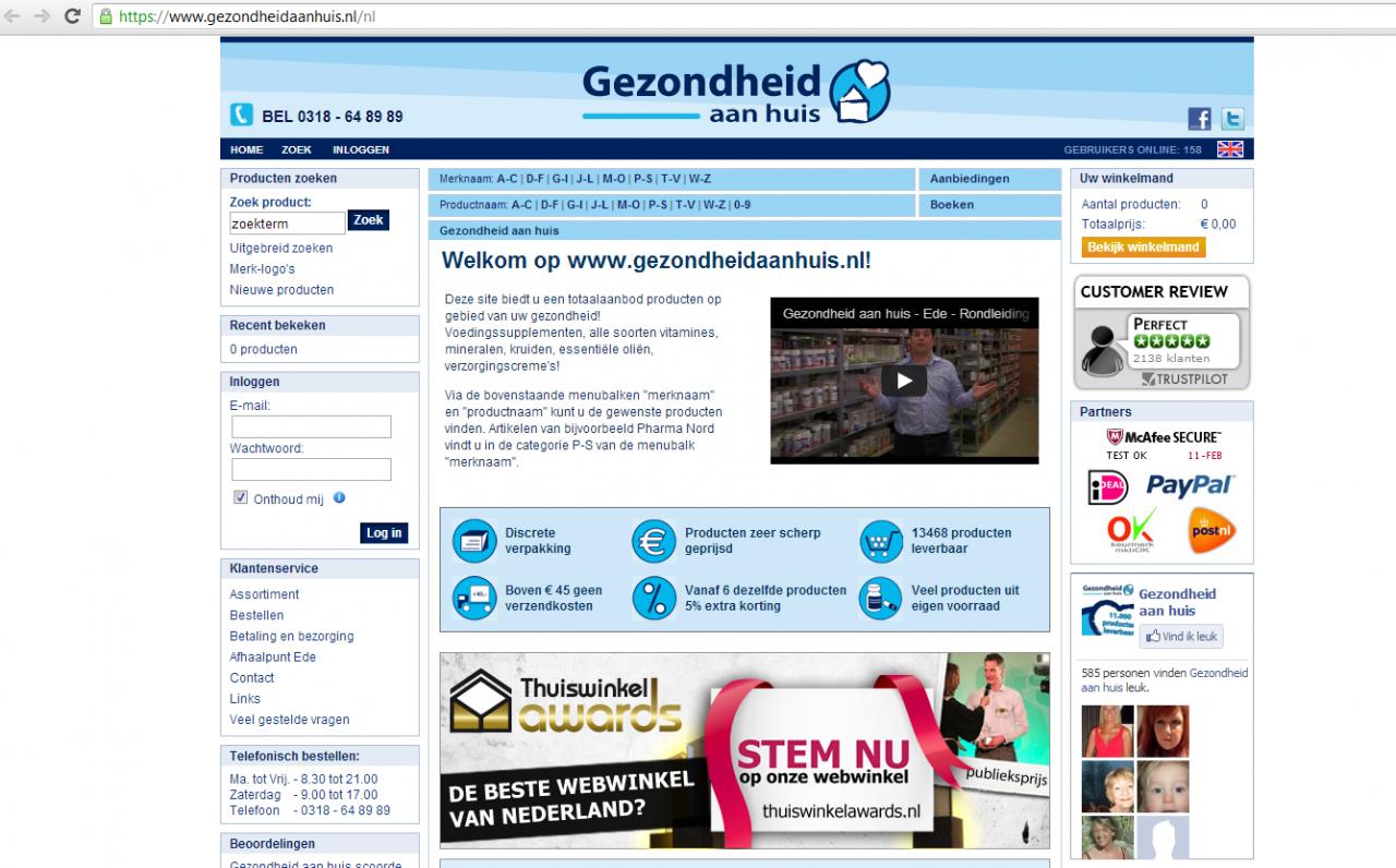 Gezondheidaanhuis.nl
